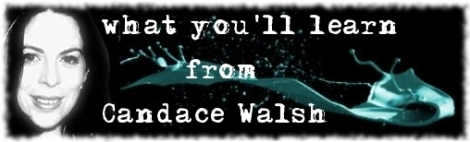 candace walsh's class descriptions